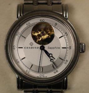 【送料無料】腕時計 ウォッチサファイアスイスボックスvery nice candino sapphire swiss made 25 jewels movement automatic watch in box