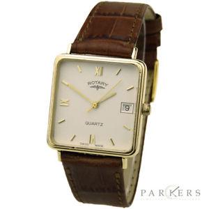 【送料無料】腕時計 ウォッチロータリーゴールドクォーツrotary 9ct gold quartz wristwatch dating circa 1987