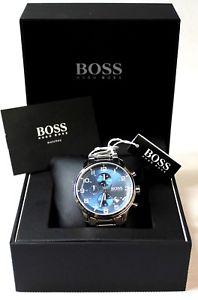 【送料無料】腕時計 ウォッチヒューゴボスメンズウォッチクロノグラフエアロシールドhugo boss 1513183 herrenuhr chronograph aeroliner