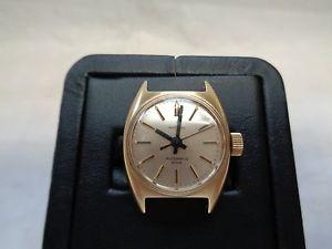 【送料無料】腕時計 ウォッチイエローゴールドブロgalt amp; bro 14k yellow gold wrist watch 17 jewels automatic