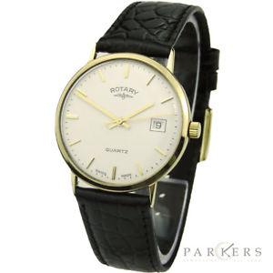 【送料無料】腕時計 ウォッチロータリーゴールドクォーツプレゼンテーションrotary 9ct gold quartz presentation wristwatch dating circa 1991