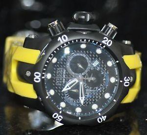 【送料無料】腕時計 ウォッチメンズリザーブスイスイエローポリクロノグラフウォッチinvicta mens reserve 13878 venom swiss made yellow poly chronograph watch