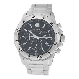 【送料無料】腕時計 ウォッチメンズシリーズクォートスチールクロノグラフウォッチauthentic mens movado series 800 141141060 steel chronograph quart watch