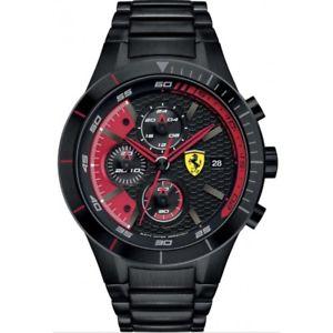 【送料無料】腕時計 ウォッチオロロジオスクーデリアフェラーリレッドorologio scuderia ferrari red rev evo fer0830264 acciaio 44 mm 7613272177801