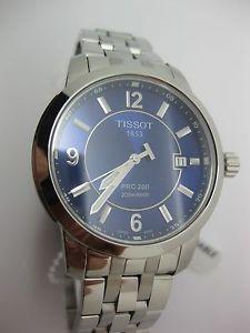 【送料無料】腕時計 ウォッチティソスポーツステンレススチールメンズウォッチ authentic tissot tsport prc 200 stainless steel mens watch t0144101104700