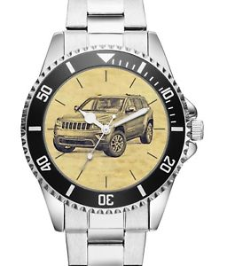 【送料無料】腕時計 ウォッチジープグランドチェロキードライバーkiesenberg uhr 20161 mit auto motiv fr jeep grand cherokee fahrer
