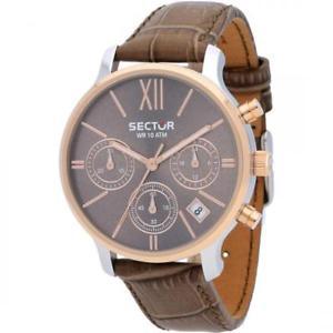 【送料無料】腕時計 ウォッチセクタークロノドナorologio sector 125 chrono donna pelle marrone r3271693501