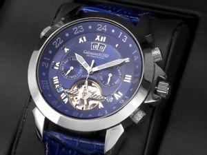 【送料無料】腕時計 ウォッチプラチナcalvaneo astonia pacific platin prchtige platinierte automatik komplikation