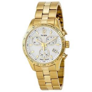 【送料無料】腕時計 ウォッチメトロヌオーヴォtimex orologio donna tachimetro acciaio oro dorato t2p058 nuovo originale wk
