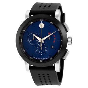 【送料無料】腕時計 ウォッチステンレススチールクロノグラフウォッチmovado museum chronograph stainless steel watch 0607002