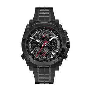 【送料無料】腕時計 ウォッチメンズブラッククロノグラフウォッチ