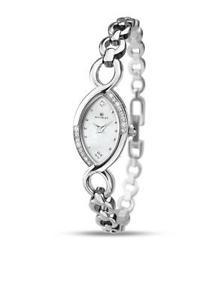 【送料無料】腕時計 ウォッチレディースシルバーストーンパールブレスレットウォッチladies accurist 8047 silver stone set mother of pearl bracelet watch rrp 7000
