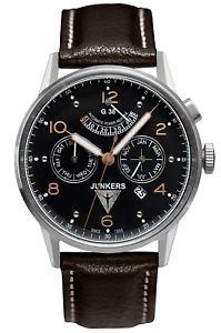 【送料無料】腕時計 ウォッチメンズウォッチjunkers g38 herrenautomatikuhr 69605