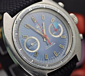 腕時計 ウォッチティソクロノグラフナビゲータダイビングウォッチc 1974 tissot seastar navigator chronograph cal 2060 valjoux 7733 dive watch