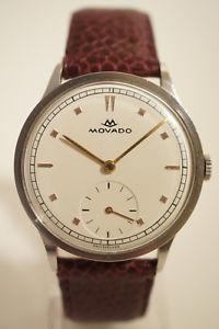 腕時計 ウォッチmovado acier, tat exceptionnel, annes 50