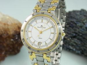 【送料無料】腕時計 ウォッチモーリスロアサファイアガラススチールゴールドメンズウォッチmaurice lacroix 95417 bicolor saphir glas stahl gold herrenuhr