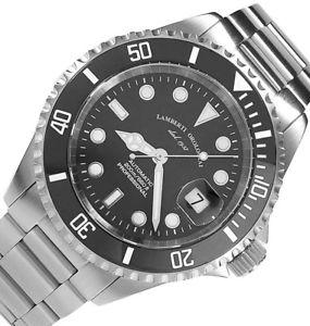 腕時計 ウォッチモデルオートlambertiorologiai modello80517n  acquaforte 200 automatico eta  zaffiro
