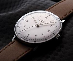 腕時計 ウォッチマックスビルハンドワインディングアナログウォッチjunghans max bill handwinding 34mm analog watch  027370100