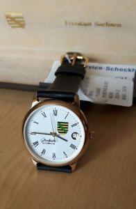 【送料無料】腕時計 ウォッチグラスヒュッテオリジナルサックスクロックコート