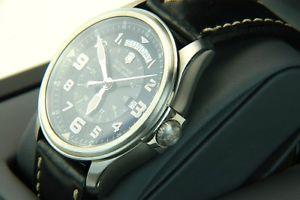 腕時計 ウォッチビンテージスイスアーミーメンズvintage victorinox swiss army mens 241397 infantry day date automatic watch