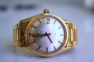 【送料無料】腕時計 ウォッチゴールドneues angebotcertina ds automatic 20m gold *approx 1964*