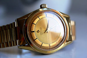 【送料無料】腕時計 ウォッチゴールドneues angebotcertina ds 20m gold automatic *1960*