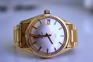 腕時計 ウォッチゴールドneues angebotcertina ds automatic 20m gold *approx 1964*