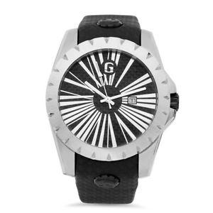 【送料無料】腕時計 ウォッチカーボンファイバーステンレススチールウォッチgiantto just g carbon fiber limited edition stainless steel ip watch 47 mm 5 atm