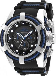 【送料無料】腕時計 ウォッチメンズリザーブボルトスイスクロノグラフシリコントライウォッチケーブル mens invicta 23051 reserve bolt tri cable swiss chronograph silicone watch