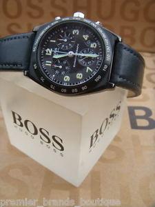 【送料無料】腕時計 ウォッチヒューゴボスメンズデザイナースイスパイロットクロノグラフ hugo boss mens designer swiss movado made pilot date chronograph wrist watch
