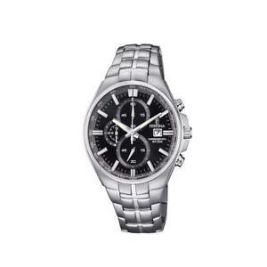 【送料無料】腕時計 ウォッチメンズステンレススチールクロノグラフウォッチfestina f68624 mens stainless steel chronograph watch