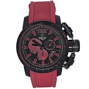 【送料無料】腕時計 ウォッチクロノスポーツメンズクロノグラフスイスmetalch chronometrie chronosport mens chronograph swiss made watch 447047
