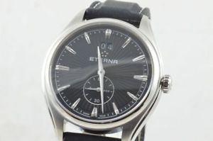 【送料無料】腕時計 ウォッチeterna avantgarde big date quartz 39mm 254541 neu ungetragen rar