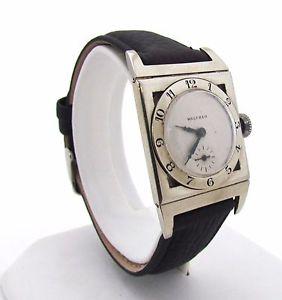 【送料無料】腕時計 ウォッチアンティークレディウォルサムktストラップサービスantique amp; rare 1925 lady waltham 18 kt watchwith leather strapserviced