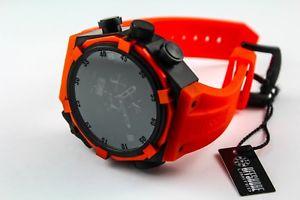 【送料無料】腕時計 ウォッチブラッククロノグラフウォッチフォースシャドウオレンジ