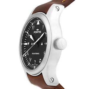 腕時計 ウォッチフォルティスフライヤーアルメンズスイスfortis b42 flieger automatic al tayer mens automatic watch swiss 7861061 l18