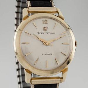【送料無料】腕時計 ウォッチイエローゴールドメンズジャイロマティックウォッチブレスレット14k yellow gold girardperregaux mens gyromatic watch w expansion bracelet