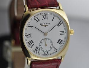 【送料無料】腕時計 ウォッチトノーマニュアルlongines tonneau oro 18kt manuale cal l 3962 ref l 78546 nos