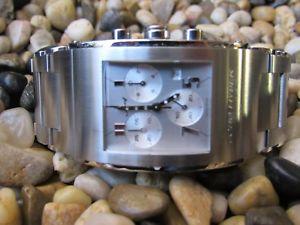 【送料無料】腕時計 ウォッチライトキラダメンズクロノグラフステンレスエドjorg hysek k102 kilada mens chronograph watch, stainless steel, minty limited ed