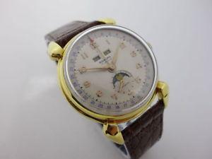 【送料無料】腕時計 ウォッチムーンフェイズオリジナルワイドrodana moonphase original breitling movement 1960s