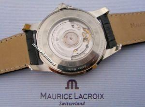 腕時計 ウォッチモーリスロアポントスexklusive maurice lacroix pontos date gmt