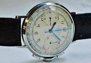 【送料無料】腕時計 ウォッチミリタリークロノグラフスチールヴィーナスヴィンテージウォッチmilitary chronograph ssteel 40s wwii tavannes venus 165 vintage watch reloy
