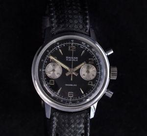 腕時計 ウォッチヴィンテージクロノグラフセットプライベートラベルスワンクvintage chronograph full set, le jouryema private label swank landeron 248