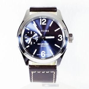 【送料無料】腕時計 ウォッチグリシンポンドorologio glycine incursore kmu 46 380418 tplb8