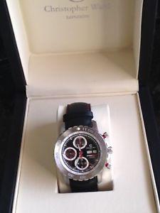 腕時計 ウォッチクリストファーウォードグラフホークautomatic christopher ward  cronograph 7750 valjoux speed hawk