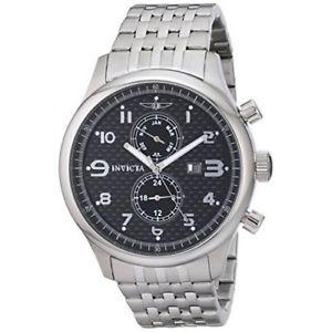 【送料無料】腕時計 ウォッチステンレススチールクロノグラフウォッチinvicta specialty 0369 stainless steel chronograph watch