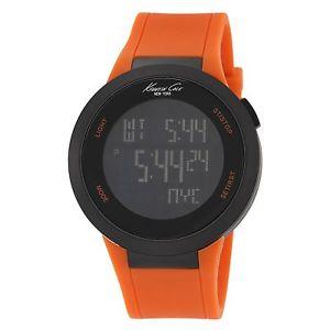 【送料無料】腕時計 ウォッチケネスニューヨークメンズタッチオレンジストラップデジタル kenneth cole york mens kc1665 kctouch orange strap digital watch
