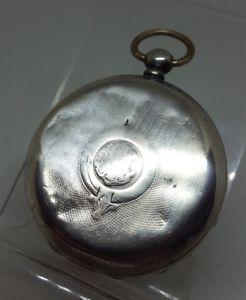 【送料無料】腕時計 ウォッチアンティークソリッドシルバーケンダルポケットケース