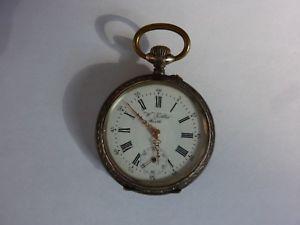 【送料無料】腕時計 ウォッチポケットtaschenuhr handaufzug w khler frth silber 800