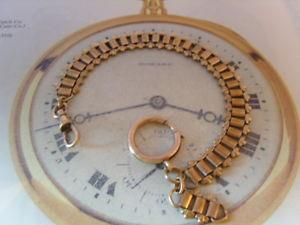 【送料無料】腕時計 ウォッチポケットチェーンアンティークビクトリアローズゴールドファンシーリンクウォッチ